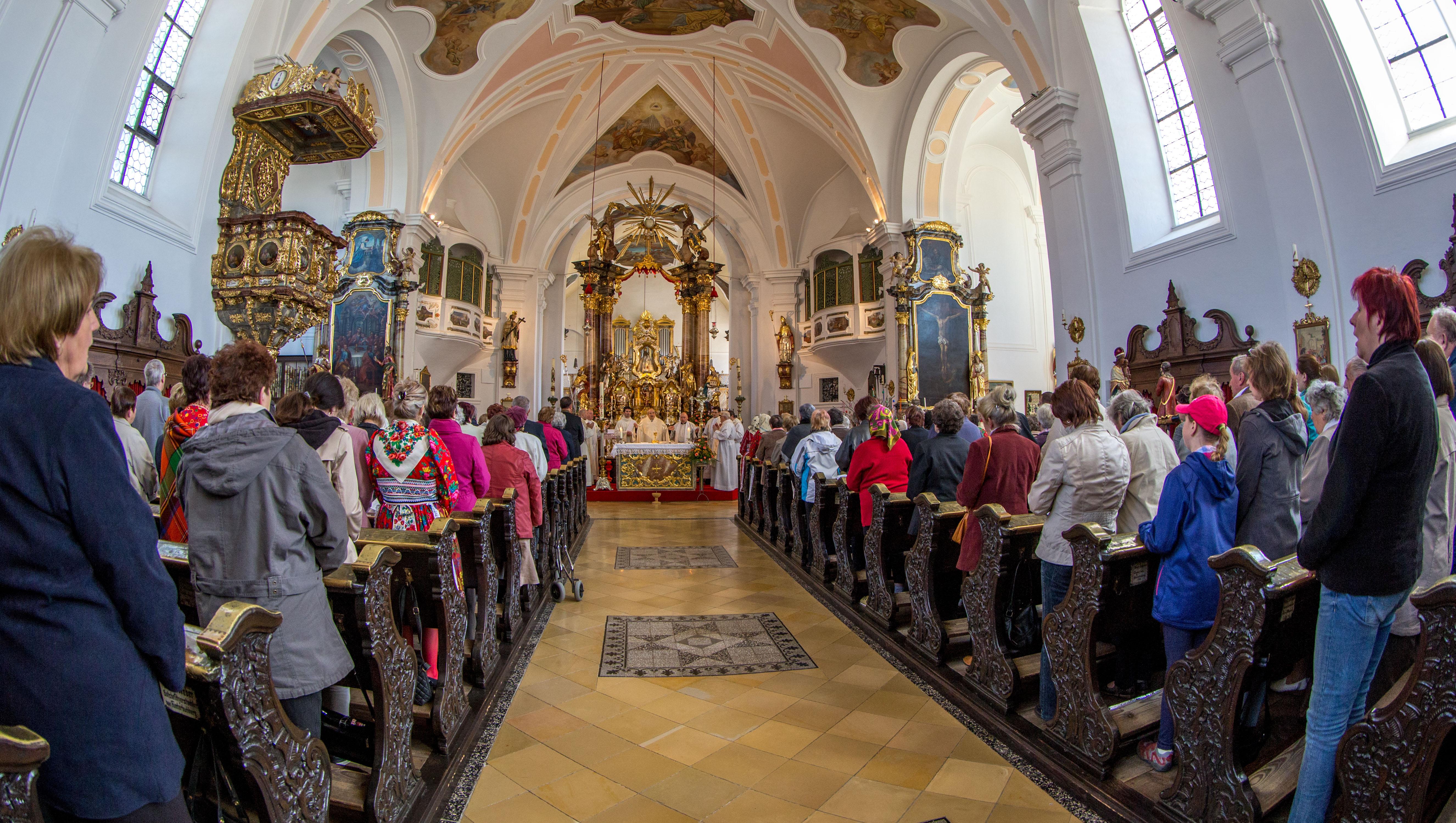 Neukirchen, 7.5.2016, Pouť k Panně Marii Loučimské, domažlický vikariát-49