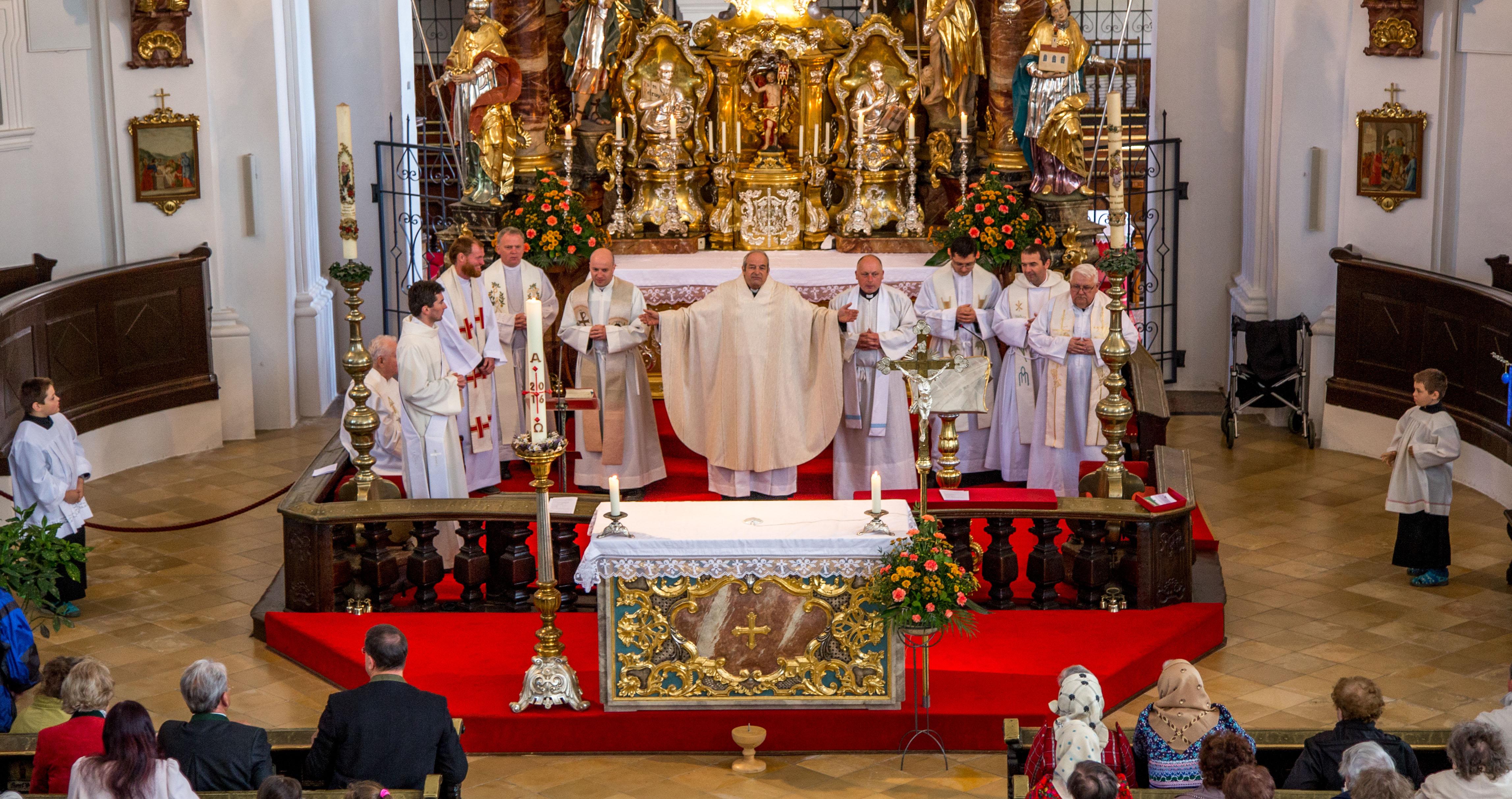 Neukirchen, 7.5.2016, Pouť k Panně Marii Loučimské, domažlický vikariát-6